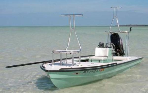Sight fish charters hells bay skiff flats fishing with for Fishing platform boat