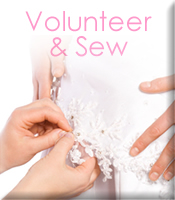 Volunteer and Sew