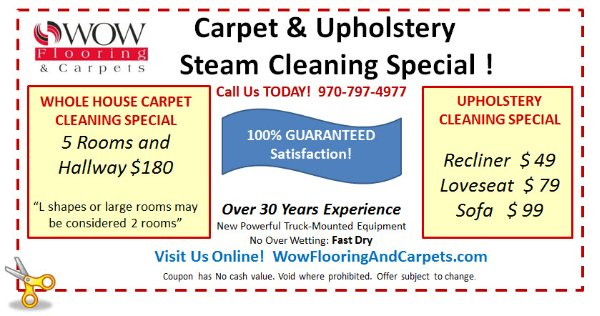 coupons wow flooring and carpets fort collins co. Black Bedroom Furniture Sets. Home Design Ideas