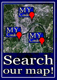 Search Cincinnati Condos for Sale Map