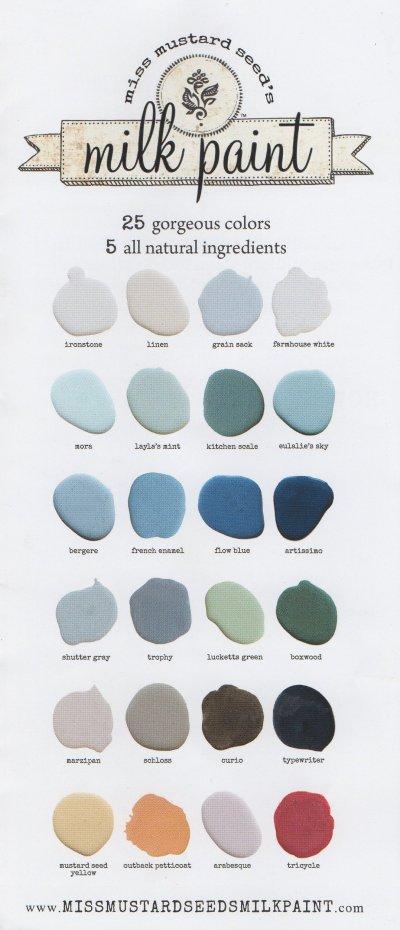 Good Miss Mollard Seedu0027s Color Chart ...