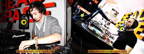 Live DJ Sets - Head Space Stores