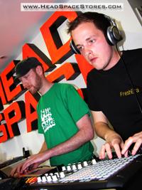 Head Space Stores - Live DJ Sets - Redfest Warm Up