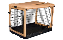Pet Gear The Other Door Steel Folding Dog Crate. Plastic Dog Crate