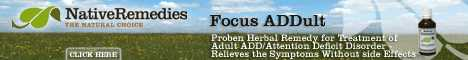 Adult Attention Deficit Disorder Help - Natural ADD Remedies
