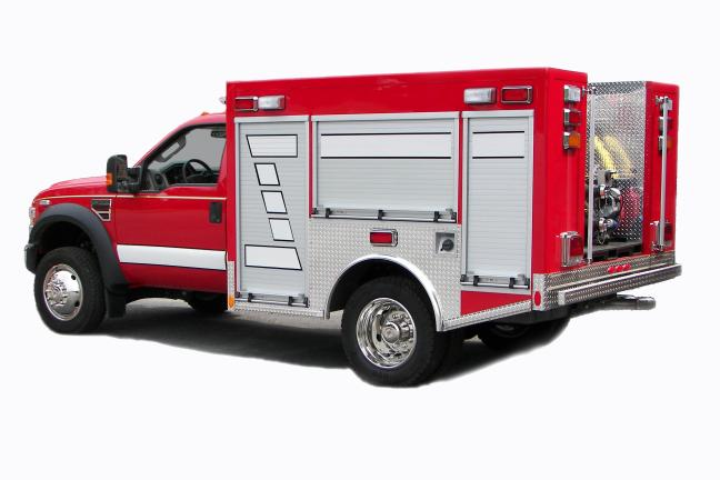 Emergency Response Vehicles - Brush/Pumpers - Brush trucks Mini-Pumpers Wildland