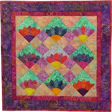 Letha's Electric Fan Quilt Instructions | eHow.com