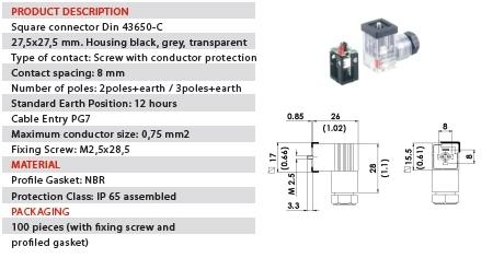 DIN_43650_C_Con_Circuits din 43650 c con 115v