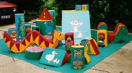Soft Play Hire 24 item set Hire