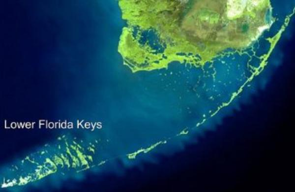 Chart of the Florida keys