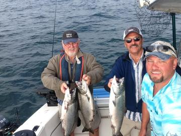 Salmon charter fishing for seattle everett washington for Puget sound fishing charters